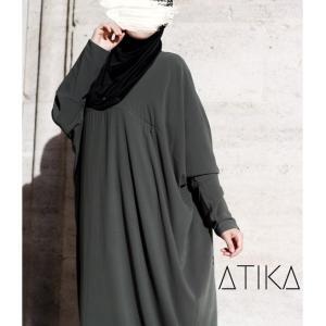 Abaya Mufida Khaki_opt