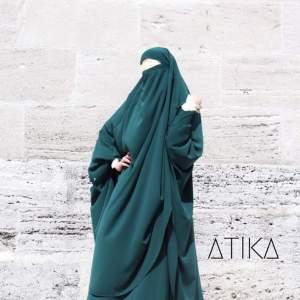 Jilbab mit Rock dunkelgrün