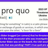 Is quid pro quo treason?