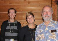 Betsy C, Kristi w/ Pres. Jim