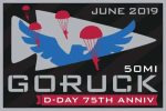 D Day Rucking Patch GoRuck