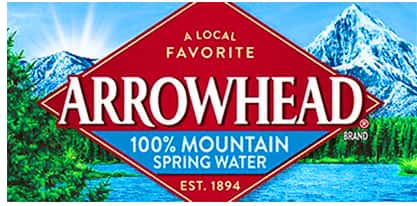 Thank You Arrowhead Water!