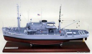 USS Conserver Model sample