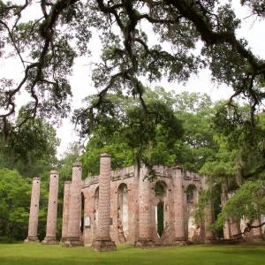 Old Sheldon Church Ruins image