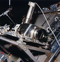 the camera used to capture Neil Armstrong's descent