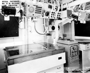 USS San Francisco Flag Plot