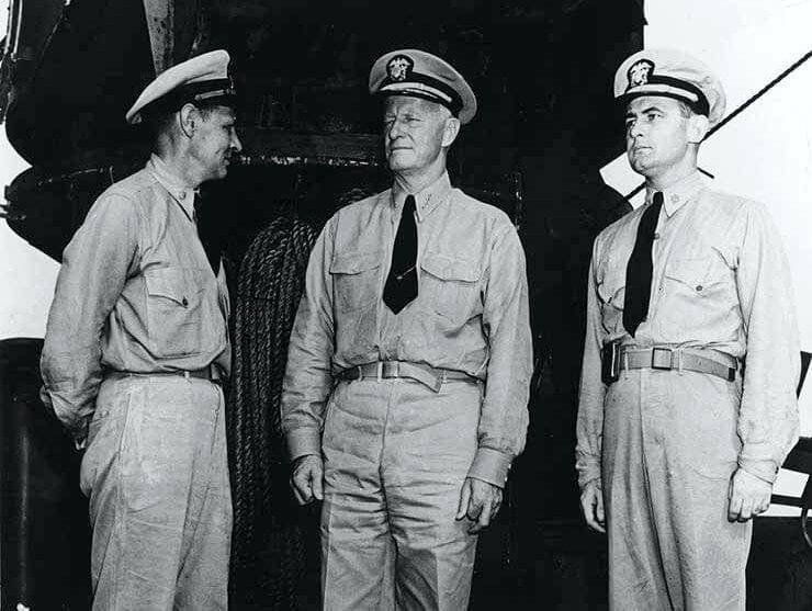 Admiral Chester W. Nimitz, USN Commander in Chief, Pacific Fleet