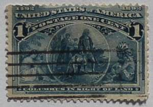 1893 Columbian Exposition 1c