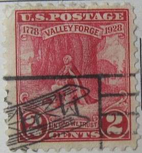 1928 Valley Forge 2c
