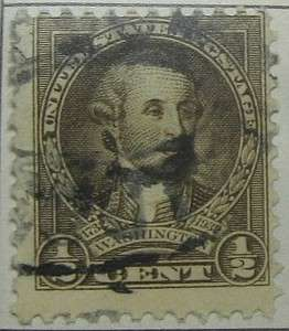 1932 Washington Bicentennial 1/2c