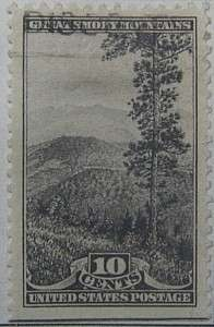 1934 Great Smoky Mts 10c