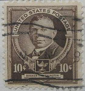 1940 Booker T. Washington 10c