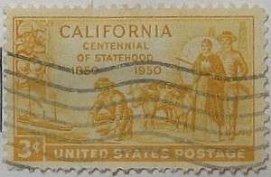 1950 California Statehood 3c