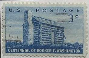 1956 Booker T. Washington 3c