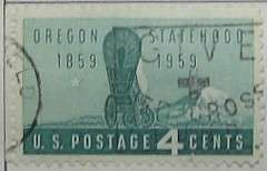 1959 Oregon Statehood 4c