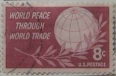 1959 Peace Through Trade 8c