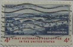 1960 Automated Post Office 4c