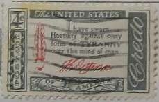 1960 Jefferson Quotation 4c