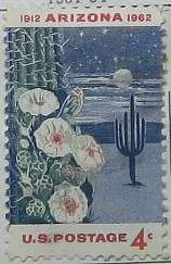 1962 Arizona Statehood 4c