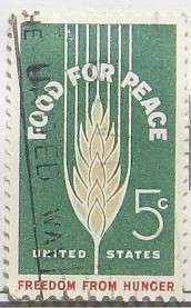 1963 Food for Peace 5c