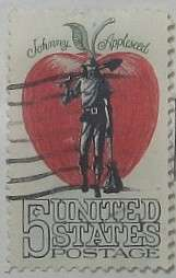 1966 Johnny Appleseed 5c
