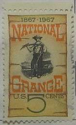 1967 National Grange Centenary 5c
