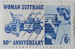 1970 Woman Suffrage Anniversary 6c