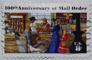 1972 Mail Order Centenary 8c