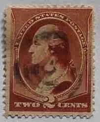 1883 Washington 2c