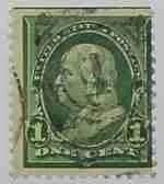 1898 Franklin 1c