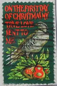 1971 Christmas Partridge 8c
