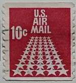 USA1968 50-star Runway 10c Coil