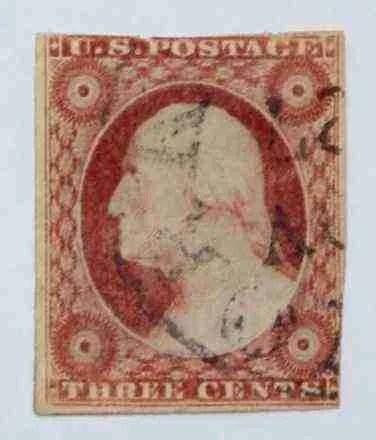 1855 Washington 3c - USC 4