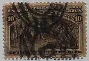 1893 Columbian Exposition 10c