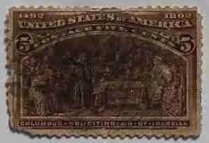 1893 Columbian Exposition 5c