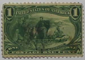 1898 Marquette on the Mississippi 1c