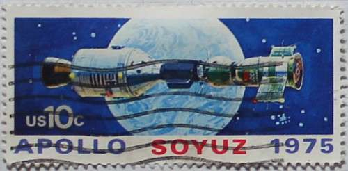 1975 Apollo Soyuz Linked 10c