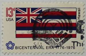 1976 Hawaii Flag 13c