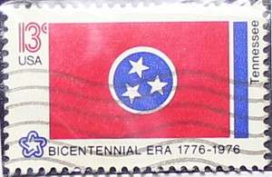 1976 Tennessee Flag 13c
