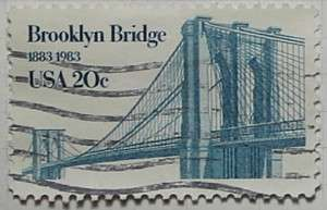 1983 Brooklyn Bridge 20c