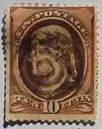 1882 Jefferson 10c