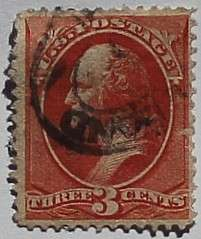 1887 Washington 3c