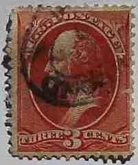 1887 Washington 3c