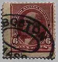 1890 Garfield 6c