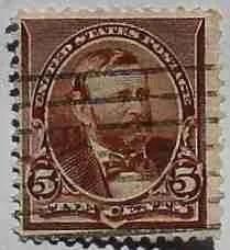 1890 Grant 5c