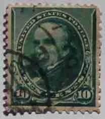 1890 Webster 10c
