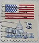 1977 Flag over Capitol 13c
