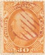 1860 Franklin 30c