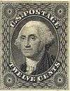 George Washington 12c black
