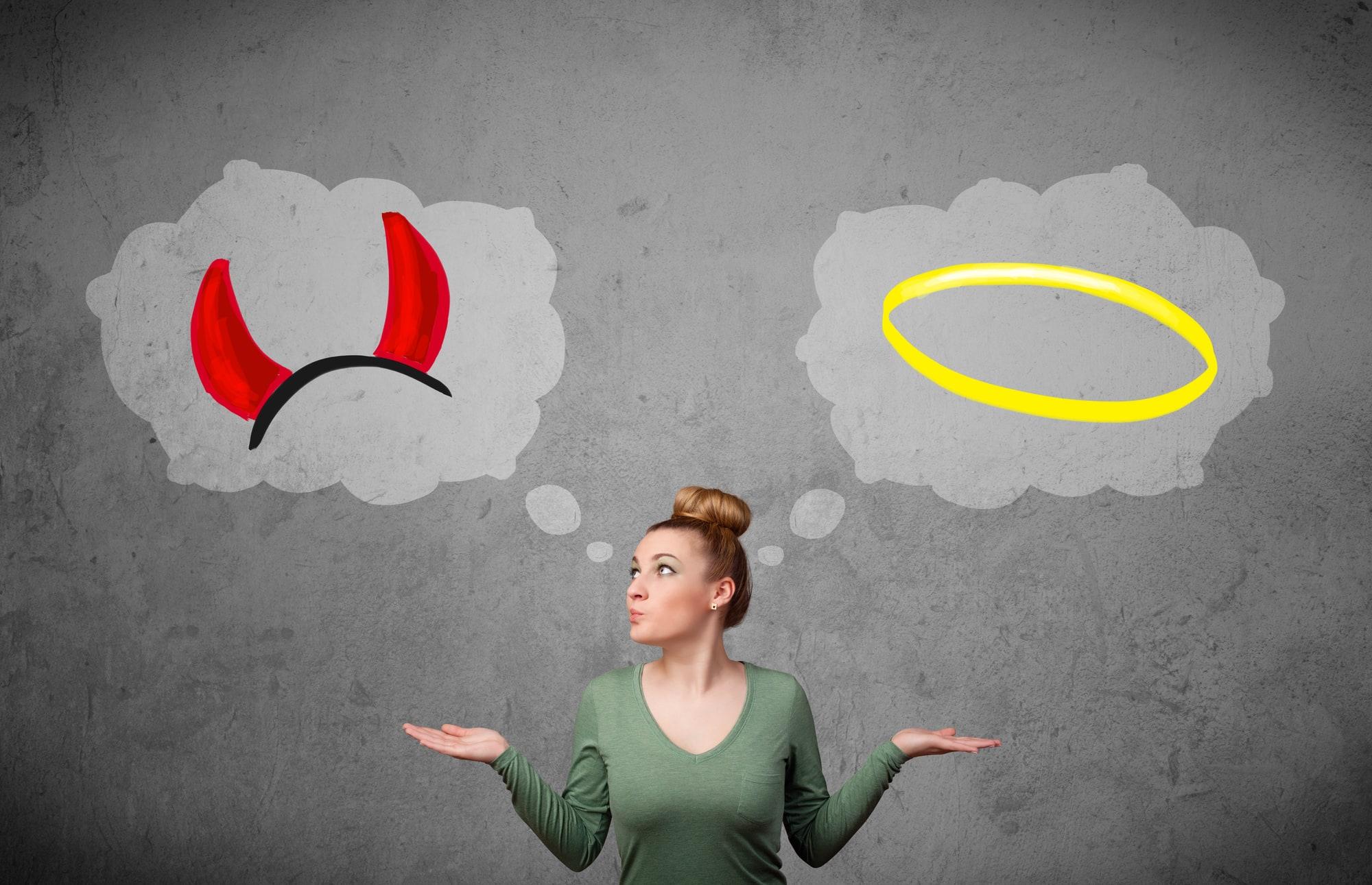 Какая ваша сторона души наиболее сильна: Темная или светлая?